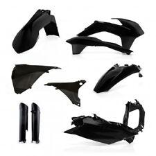 Acerbis Full Black Plastics Kit KTM 2014 2015 EXC EXCF 200 300 350 450 500