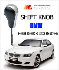 Black Automatic Transmission AT Shift Knob for BMW E46 E38 E39 E60 X3 X5 Z3 E36