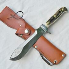 PUMA Germany mod 6375 WHITE HUNTER stag hunting knife Orig leather sheath UNUSED