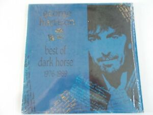 """Beatles George Harrison-""""Best Of Dark Horse 1976-1989"""" Columbia House LP/NM/NM"""