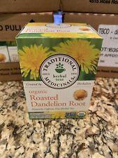 HUGE LOT 12 BOXES Organic Roasted Dandelion Root Tea Traditional Medicinals
