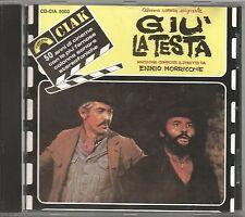 ENNIO MORRICONE - Giu' la testa - SERGIO LEONE CD OST 1987 COME NUOVO
