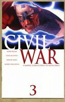 Civil War #3-2006 nm- 9.2 Steve McNiven / 1st STANDARD cover Avengers