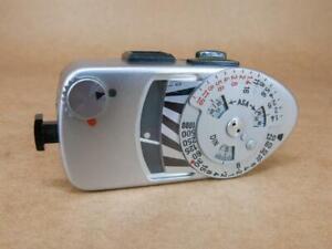 Leitz Leica Leicameter MR Light Meter Chrome