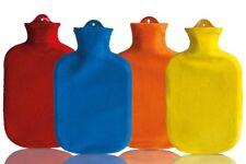 Premium Wärmflasche Sänger Wärmeflasche Flausch Naturgummi 2 Liter XL div Farben