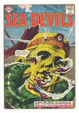 SEA DEVILS #16  DC 1964 - Russ Heath, Jack Adler & Bruno Premiani Art - GD/VG