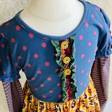 NWOT Matilda Jane Harvest Time Dress Thanksgiving Holiday I Sz 6