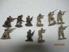 Conte WWII Omaha Beach G.I.'S 1/32 Scale 6 poses 10 Total figures