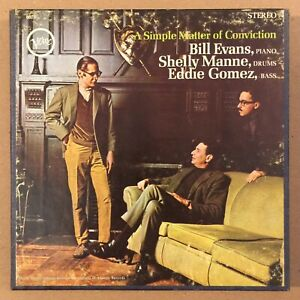 Reel to Reel Tape - Bill Evans Trio - Simple Matter of Conviction 7.5 ips TESTED