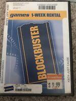 Blockbuster Rental Case Vhs  Super Super Rare Xbox Just Cause !!!!!