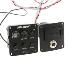 FISHMAN ISYS+ ACOUSTIC GUITAR PICKUP ONBOARD PREAMPS EQ DIY