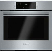 """Bosch 800 Series  30"""" Single Electric Wall Oven - FREE SHIPPING! - HBL8451UC"""