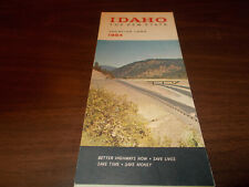 1964 Idaho State-issued Vintage Road Map