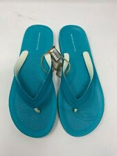 American Eagle Outfitters Rubber Flip Flops Men's 12 Blue New