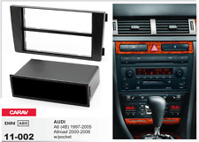 CARAV 11-002 1Din Marco Adaptador Kit Instalacion de Radio AUDI A6 4B, Allroad