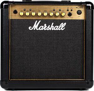 Marshall MG15GFX Guitar Amp Combo Gold