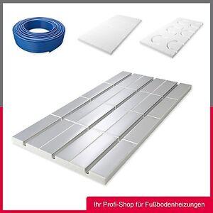 10 qm Fußbodenheizung Trockenbau QuickTherm Basis-Set