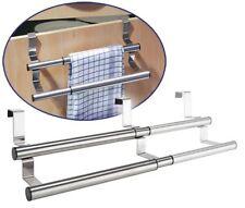 inox porte Porte-Serviettes Porte d'armoire chiffon pour vaisselle Support Barre