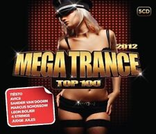MEGA TRANCE TOP 100 5 CD NEU BASTO!/4 STRINGS/CARLOS/AVICII/TIESTO/+
