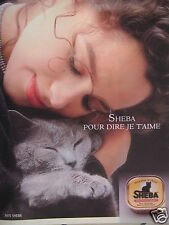 Advertising 1990 sheba poultry liver to say i love you-cat-advertising