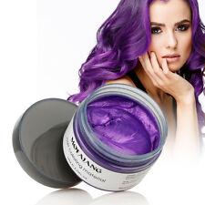 5 Color Easy Modeling Temporary Dye DIY Glamour Hair Color Wax Hair Cream
