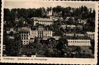 Ansichtskarte PK sw Johannisbad Riesengebirge Schlesien Sudetengau Feldpost 1942