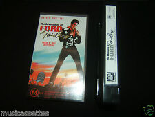 THE ADVENTURES OF FORD FAIRLANE AUSTRALIAN VHS VIDEO YELLO BILLY IDOL
