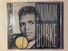 SOLOMON BURKE Home in your heart - The best of 2cd SIGILLATO SEALED