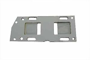 Chrome Transmission Mounting Plate for Harley Davidson by V-Twin