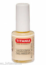 TITANIA Professional nail hardener strengthens nourishes nails protective layer