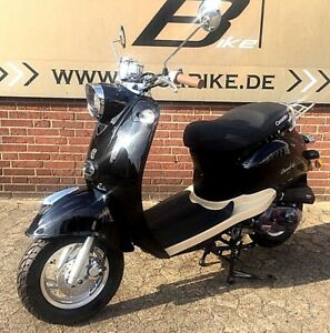 MOTORROLLER 50 ccm 4TAKT Mit Euro 4 RETRO ROLLER SCOOTER  ZNEN Casabike