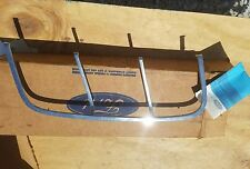 NOS 1969 FORD MUSTANG COUPE or VERT GT QUARTER PANEL ORNAMENT LH