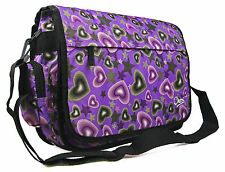 New Mens Girls Boys College School Satchel Messenger Travel Flight Shoulder Bag