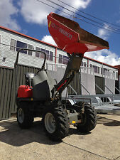 SYDNEY MACHINERY HIRE TIGHT ACCESS 1 TONNE 4X4 SITE DUMPER DRY HIRE WITH TRAILER