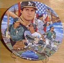 Jose Canseco 10 ¼  Plate Limited Edition
