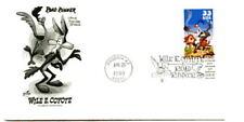 3391a Wile E. Coyote, ArtCraft, single,  FDC