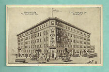 SUPERB C1910'S ADVERTISING POSTCARD FOR THE WALKER HOUSE HOTEL TORONTO CANADA