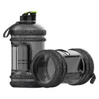 2.2L BPA Free Sport Gym Training Big Drink Water Bottle Cap Kettle Workout Large