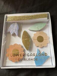 MERI MERI Easter/Summer Birthday Party Mini Flower Garland 14ft Of Twine - 421