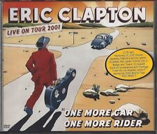 ERIC CLAPTON / ONE MORE CAR ONE MORE RIDER - LIVE ON TOUR 2001 * NEW 2CD+DVD *