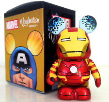 "DISNEY VINYLMATION 3"" MARVEL 1 IRON MAN AVENGERS INFINITY WAR ENDGAME FIGURE TOY"