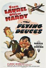 "16mm B&W Sound LAUREL & HARDY Feature ""FLYING DEUCES"" (1939) Good"