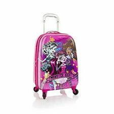 """Monster High Tween Spinner Luggage 21"""" Case Expandable Carry On Approved"""