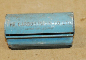 Vintage The Carborundun Co Ltd steel Sanding Block
