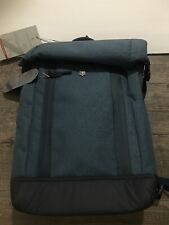"NWT Victorinox Altmont Flapover Backpack W/ Swiss Army Bottle Opener Blue 15""lap"