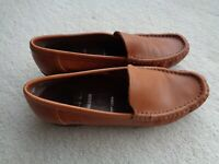 Ladies Soft Tan Leather Loafer By ARA - Size 5.5 - Excellent Soft  Moccasin!