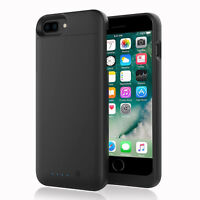 Ultra Slim Smart Power Battery Charging Case MATTE For Apple iPhone 7 8 6 Plus