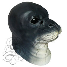 Latex Overhead Realistic Animal Aquatic SEAL Fancy Props Cosplay Party Mask