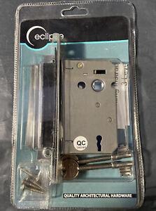 Eclipse 75mm 3 Lever Reverse Sash Lock - Nickel Plated J73021