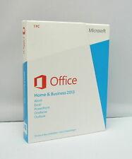 Microsoft Office 2013 Home and Business-rotto-Versione completa-tedesco-NUOVO -